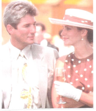 "Met Richard Gere in ""Pretty Woman""."